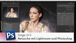 Retusche mit Lightroom und Photoshop – Die Photoshop-Profis – Folge 212