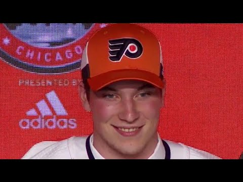 Nolan Patrick drafted second overall by the Philadelphia Flyers