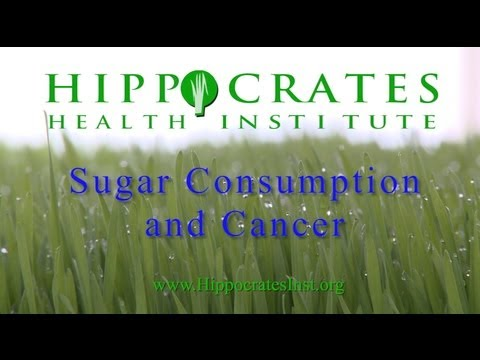 Sugar Consumption and Cancer - Brian Clement