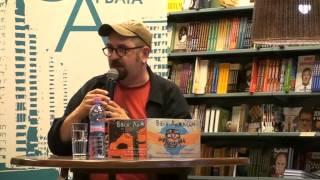 Скачать Презентация книг известного художника и блогера Васи Ложкина в Московском Доме Книги