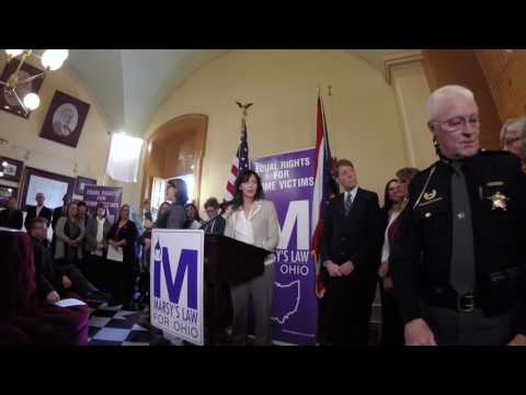 Marsy's Law for Ohio Campaign Kickoff, 1 of 3