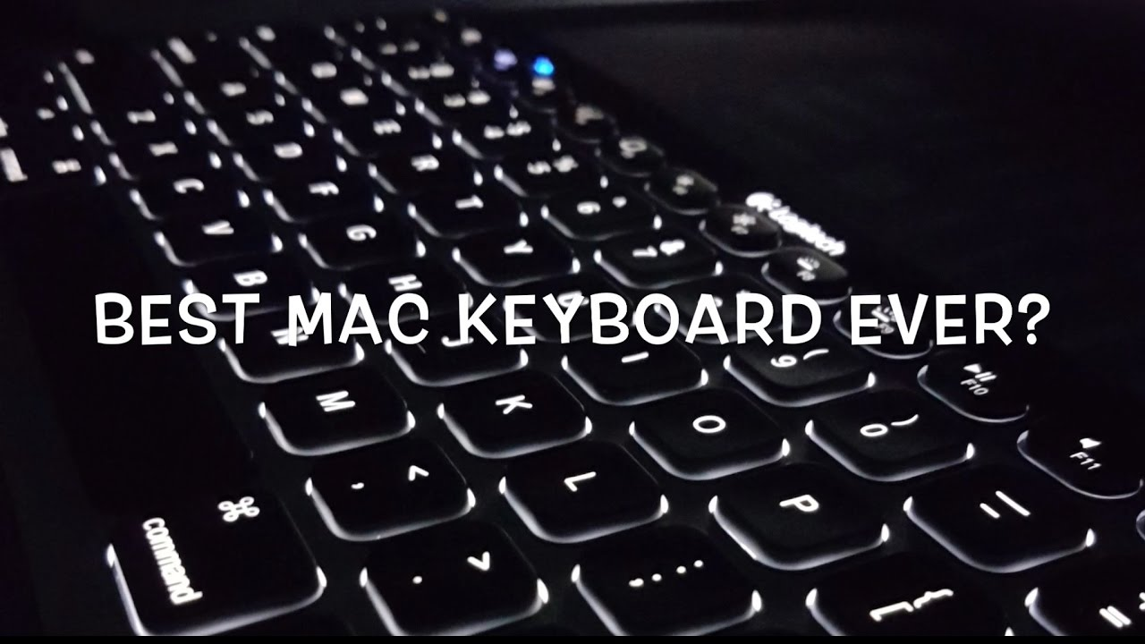 Best Wireless Keyboard For Mac And IOS Backlit Rechargeable Logitech K810 Review