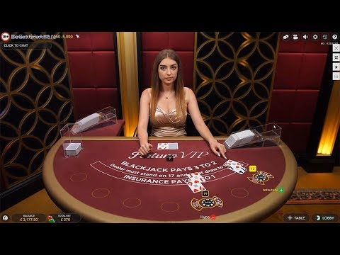 £3000 Vs Live Dealer Blackjack Live Stream