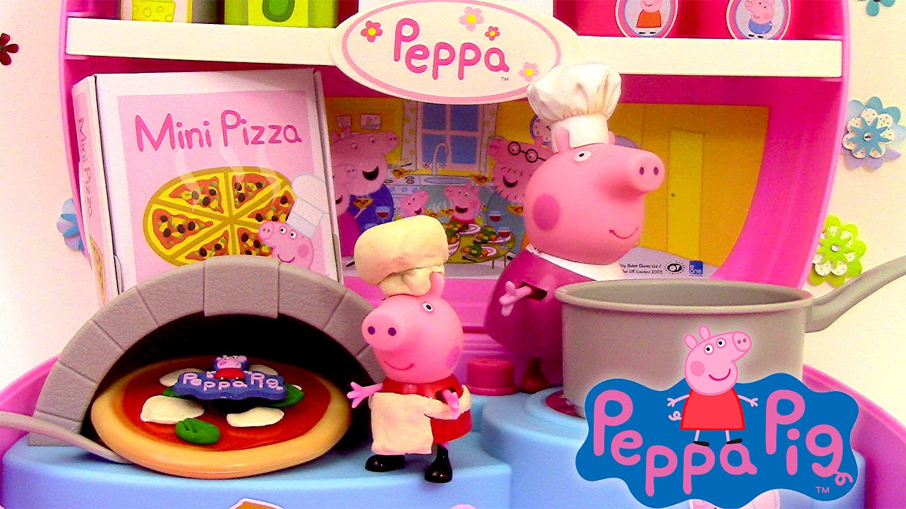 Watch peppa pig mini pizzeria jouet playset play doh pizza shop carry case 2015 online free - Jouet peppa pig carrefour ...