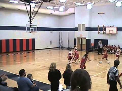 Edmonson County Middle School - 8th Grade Girls' Basketball vs. Old Kentucky Home (11/21/08)