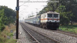 LGD WAP7 30214 Headed Bhagyanagar Daily Express Running At MPS.
