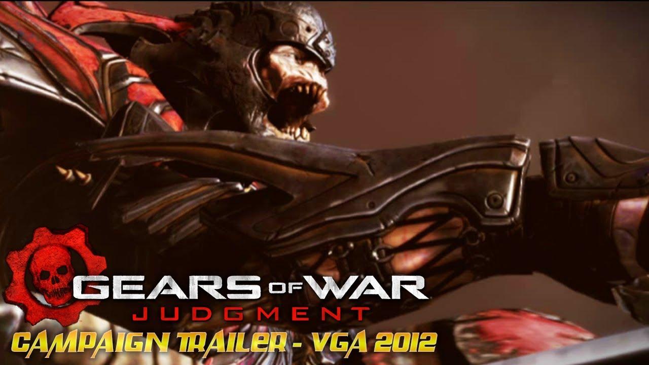 Gears Of War Judgment Campaign Trailer Vga 2012 Sub Ita Sub Esp