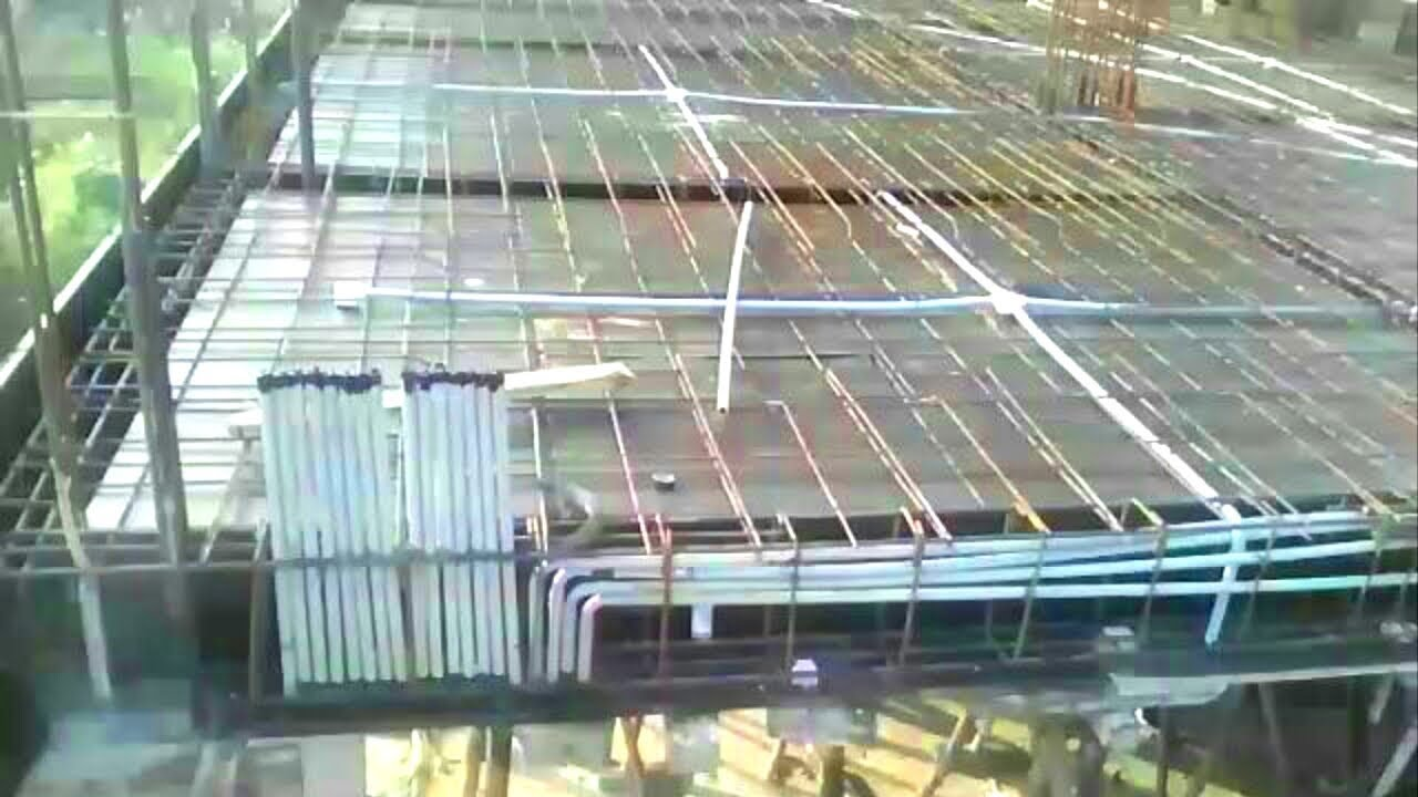 How To Fix Electrical Pvc Pipeing In Slab House Wiring Youtube Wire Gauge Chart Also Light Diagram Together With Ceiling