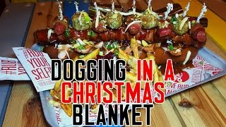Download 'Dogging in a Christmas Blanket' - EPIC Pig in a blanket dog! MP3 song and Music Video