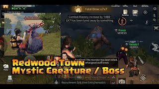 LifeAfter - Redwood Mystic Creature / Boss