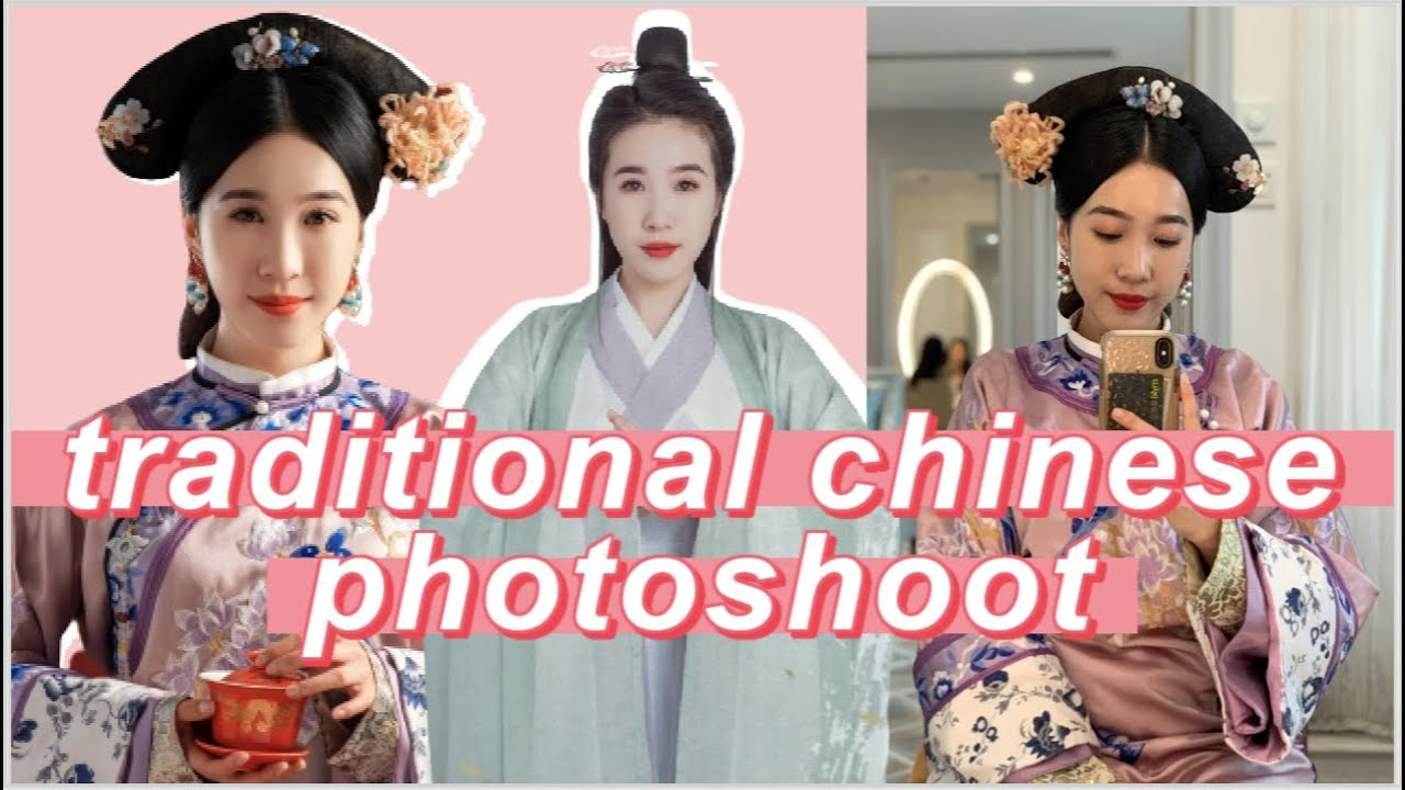 I did a Chinese photoshoot | Behind the scenes VLOG | Jenny Zhou 周杰妮