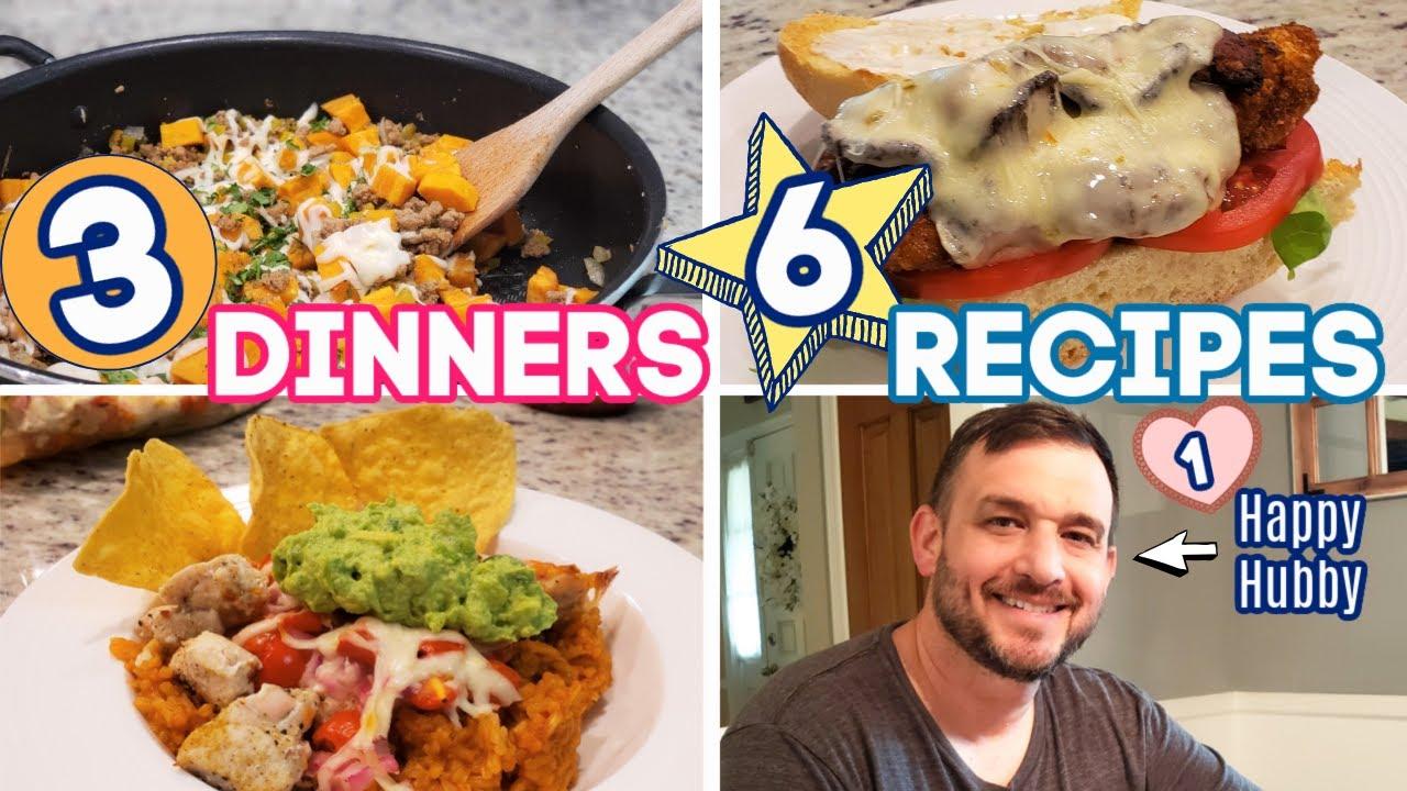 WHAT'S FOR DINNER? | EASY DINNER INSPIRATION | 6 RECIPES! | NO. 59