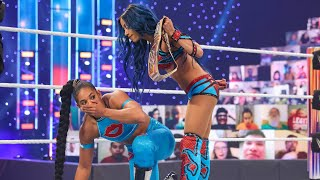 Before sasha banks defends the smackdown women's title against bianca belair at wrestlemania 37, look back history between these opponents, presented ...