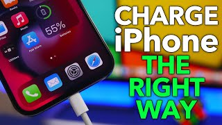 How to Charge Your iPhone the RIGHT Way - MAXIMIZE Battery Life !