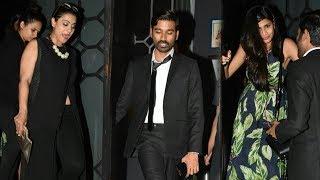 Kajol, Dhanush, Soundarya Rajinikanth Party Together after VIP 2 Trailer & Song Launch | SpotboyE