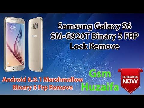 Samsung Galaxy S6 SM-G920T 6 0 1 U5 FRP BYPASS WITHOUT BOX (GSM