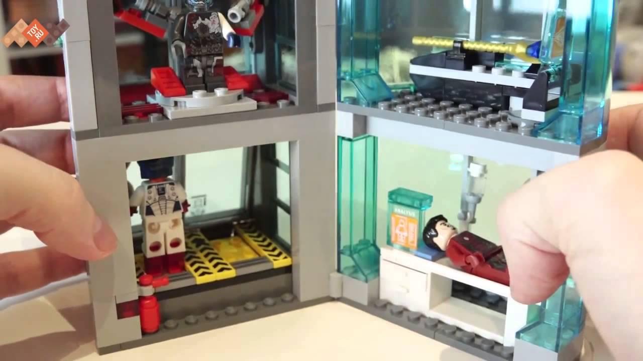 LEGO Marvel Super Heroes 76060 Святилище Доктора Стрэнджа - обзор .