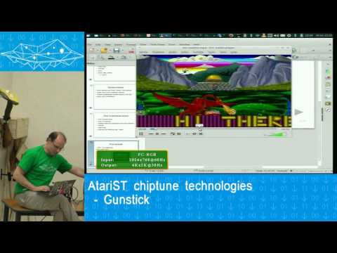 AtariST chiptune technologies – Gunstick