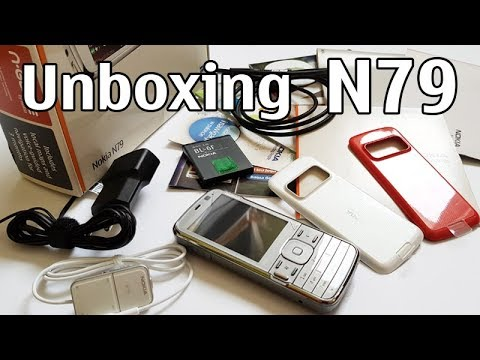 Nokia N79 Unboxing 4K with all original accessories Nseries RM-348 review