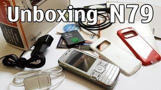 nokia N79 Unboxing