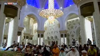 جامع الشيخ زايد.. أجواء رمضانية وطمأنينة