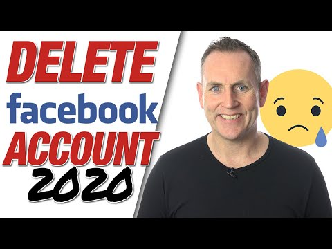 How to delete or deactivate Facebook account