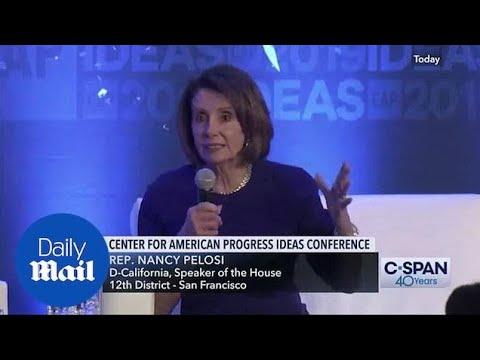 Original Video Of Nancy Pelosi Speaking At 2019 CAP Conference