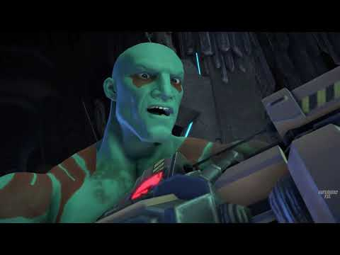 Guardians of the Galaxy - Starlord True Power - Part 1(Game Movie) |