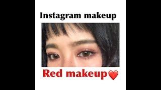 【詳しく解説】Instagram Makeup♡RedMake!