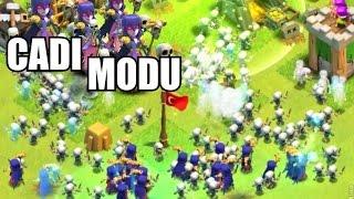 Clash of Clans Sınırsız İskeletler - OHAA BEEE !!!