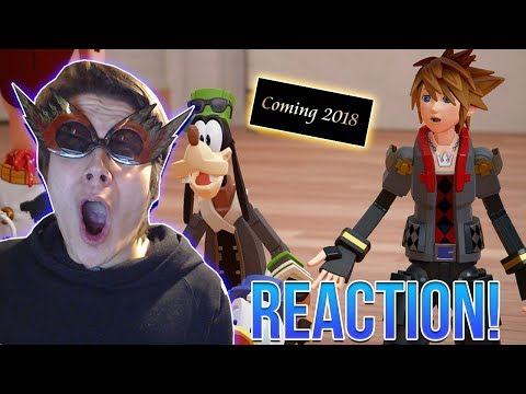 Thumbnail: KINGDOM HEARTS 3 D23 TRAILER AND RELEASE YEAR REACTION!