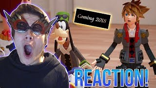KINGDOM HEARTS 3 D23 TRAILER AND RELEASE YEAR REACTION!