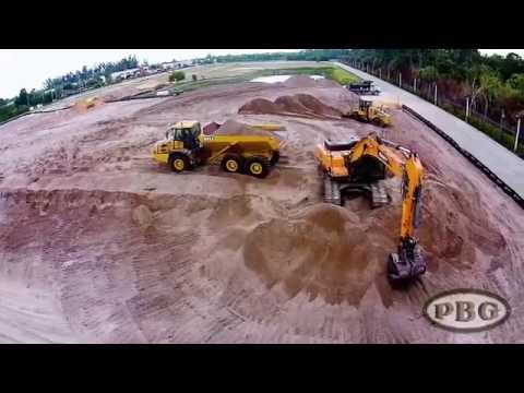 Palm Beach Grading - Imagine Schools Chancellor Campus Project Drone Footage