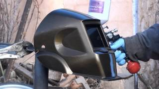 Harbor Freight Customized Welding Helmet 2