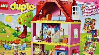 Family House / Domek Do Zabawy - Legoville - Lego Duplo - 10505 - Recenzja