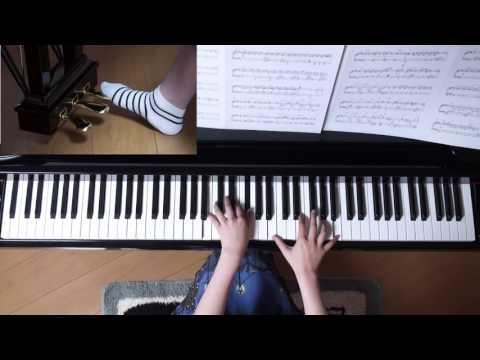 スパークル (movie ver.) ピアノ(上級アレンジ) RADWIMPS   映画「君の名は。」より music