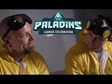 Paladins - Launch Celebration Crystal Giveaway!