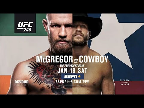 UFC 246: Conor McGregor Vs Donald Cerrone | Promo |