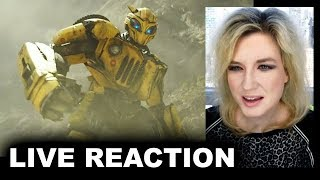 Bumblebee Trailer REACTION