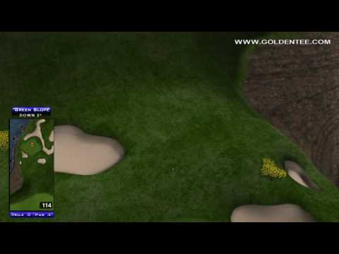 Golden Tee Great Shot on Celtic Shores!