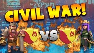 "Clash of Clans: ""War VS Your Clanmates!"" | Inter-Clan War Recap"