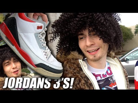 JORDAN 3s & USED WEAVE IN THE THRIFT! (Emotional)