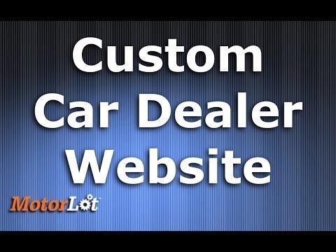 Create Dealership Websites For Any Platform - MotorLot