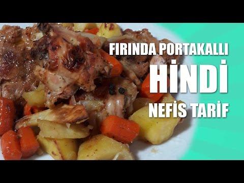 Fırında Portakallı Hindi Tarifi - Nefis Tarif