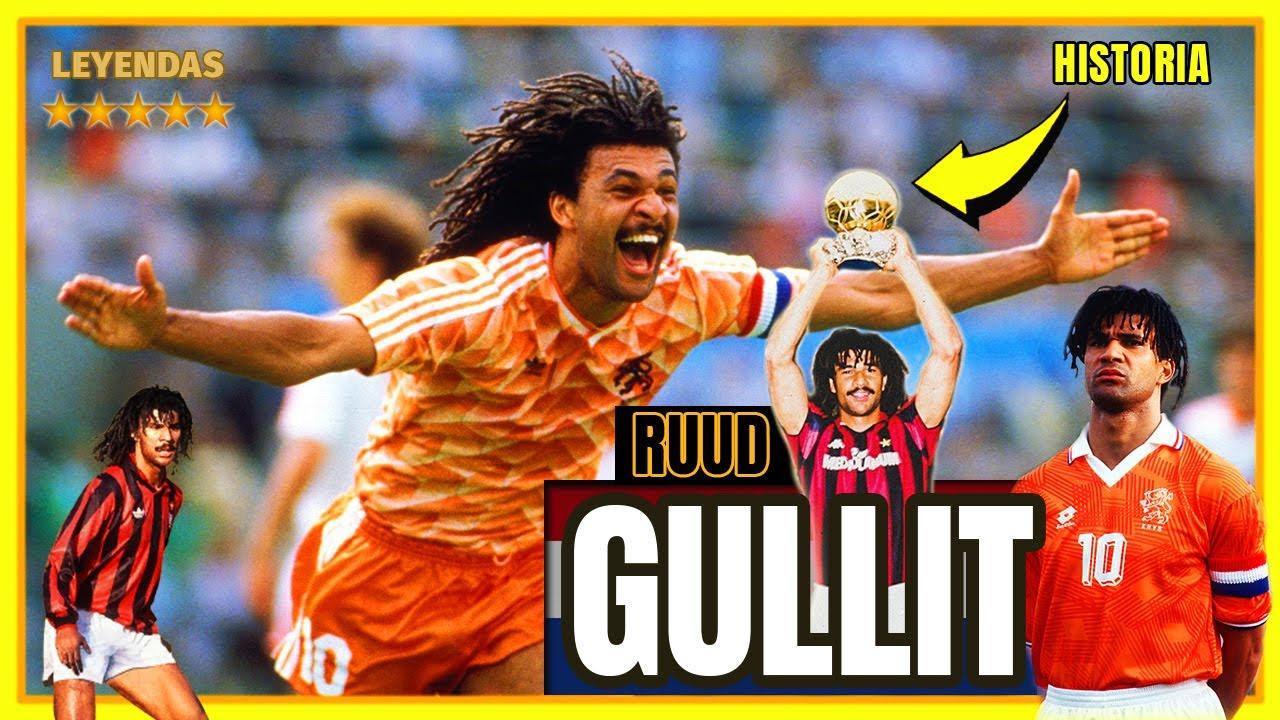 RUUD GULLIT ⭐ 🇳🇱 El JÓKER del Fútbol 🃏 Así Jugaba el TULIPÁN NEGRO