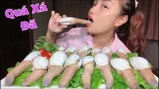 🇯🇵Một Mình Chén Sạch Nguyên Mâm Sashimi Ốc Vòi Voi - Dễ Sợ Chưa 😆 #287