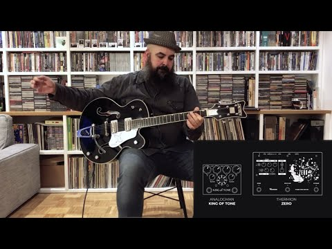 Thermion Zero tones with 8 classic guitars: Fender, Gibson, Gretsch & Suhr