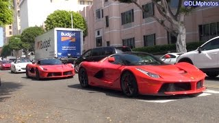 1,000 Ferraris in Beverly Hills!!! - Ferrari 60th Anniversary in America Tribute Event