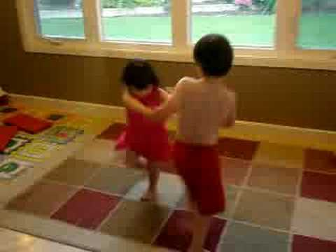 Daniel and Talya dance