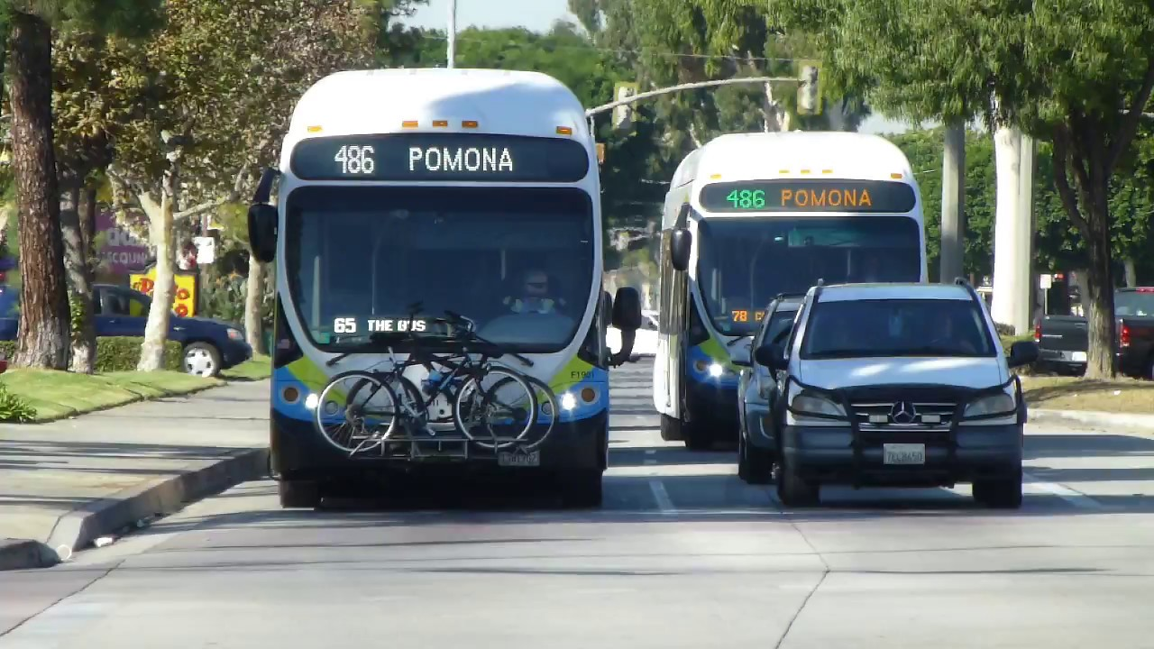 Foothill Transit Ca 2010 12 Nabi 42 Brt Cng Routes 486